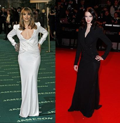 Vestido de Dior: ¿Nawja Nimri o Eva Green?