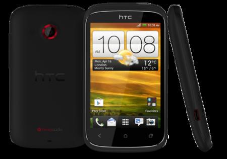 HTC Desire C de frente y completo