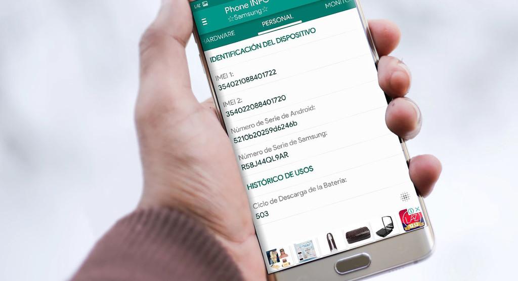 Come vedere i cicli di ricarica della batteria di un telefono cellulare Samsung