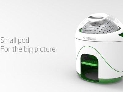 Yirego, la pequeña lavador para hogares ecológicos