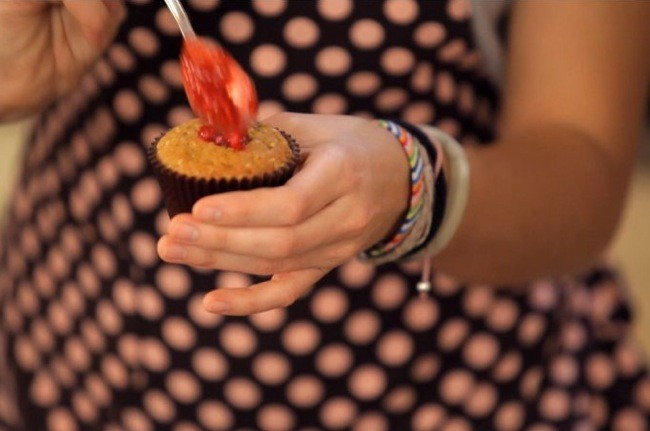elaboración cupcakes limón