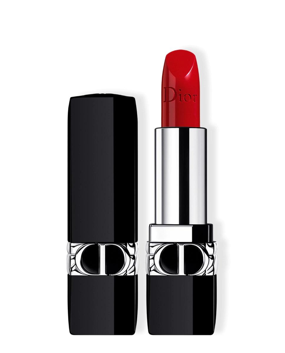 Barra de labios recargable color couture Rouge de Dior