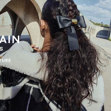 Los accesorios de pelo más ideales (y carísimos) llegan este otoño de la mano de Balmaim Hair Couture
