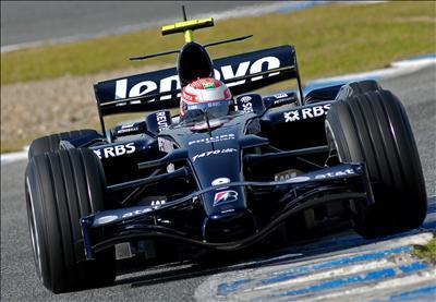 Red Bull por delante de Williams en el primer día de test en Jerez