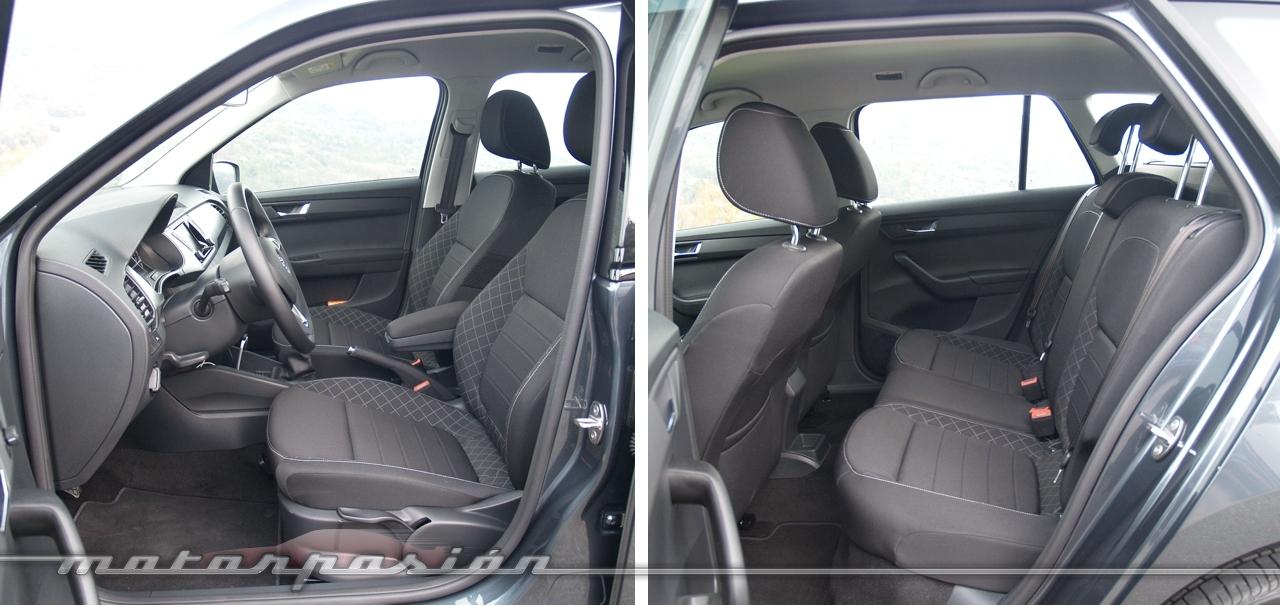 Foto de Škoda Fabia Combi 2015 (toma de contacto) (10/16)