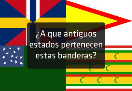 Quiz: ¿sabrías decir a qué estados extintos pertenecen las siguientes bandera?