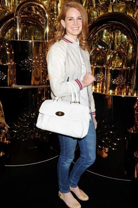 Lana del Rey Mulberry Del Rey Bag