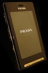 LG Prada de oro, por si lo de llamarse PRADA no era suficiente
