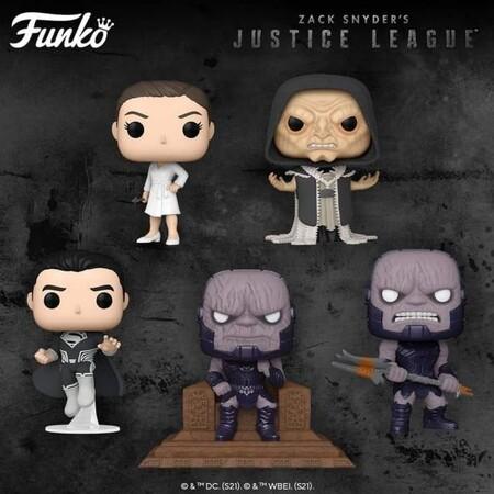 Figuras Funko POP de Zack Snyder Justice League, preventa en en México