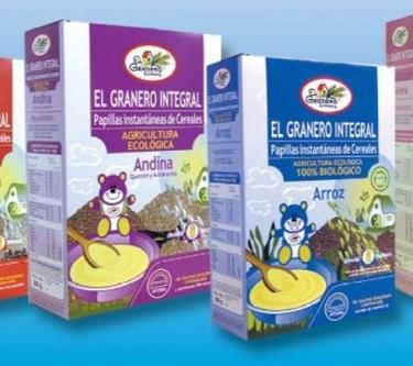 Papillas ecológicas, una opción sana