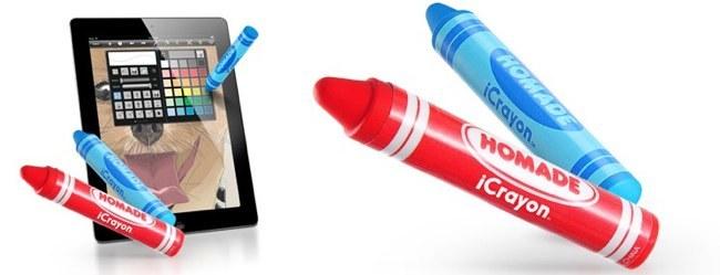 iCrayon, pintar y colorear con un Stylus para los más pequeños