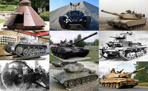 La increíble evolución de los carros de combate: desde Leonardo da Vinci hasta nuestros días