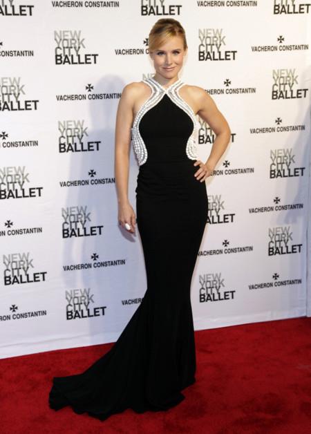 Kristen Bell Zuhair Murad vestido