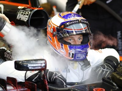 Jenson Button cumplirá 300 carreras en el GP de Malasia