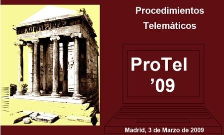 Jornada ProTel'09, trámites electrónicos con la Administración