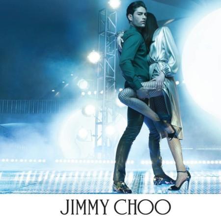 Tyson Ballou protagoniza la campaña fall-winter de Jimmy Choo