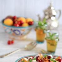 Paseo por la gastronomía de la red: recetas refrescantes con fruta