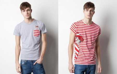 ¿Dónde está Wally? En las camisetas de Pull & Bear