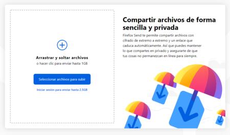 Firefox Send, el WeTransfer de Mozilla, llega a Android para enviar archivos grandes fácilmente