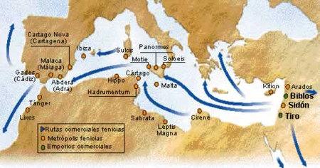 Rutas fenicias