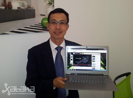 'El Acer Aspire S3 también se comercializará con operadoras', Entrevista a Campbell Kan, de Acer