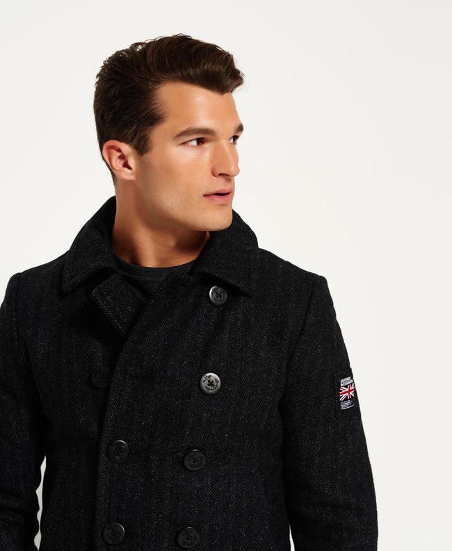 En eBay tenemos este chaquetón de paño Superdry por 41,95 euros y envío gratis