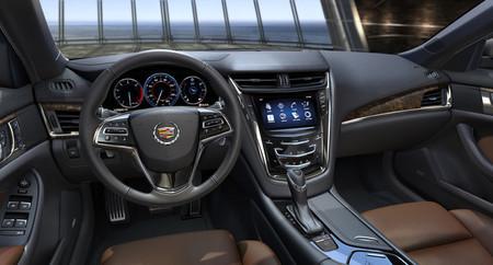 2014 Cadillac CTS, vista interior