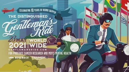 The Distinguished Gentleman's Ride vuelve el 23 de mayo: en solitario, pero con novedades y cuatro Triumph para los mejores riders