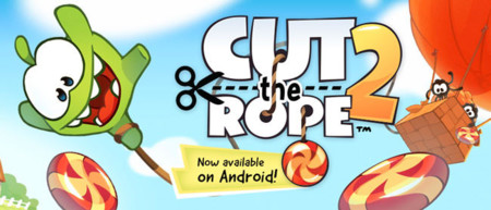 Cut the Rope 2 llega finalmente a Android