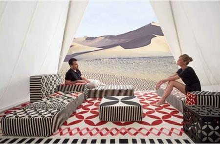 Espacio Touareg de Gan: crea tu propio ambiente a partir de una alfombra