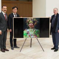Samsung amplía las colecciones de arte en sus televisores The Frame gracias a un acuerdo con el museo Hermitage de San Petersburgo