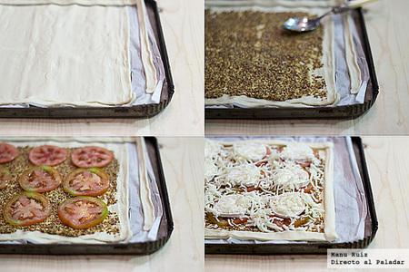 tarta de mostaza paso a paso