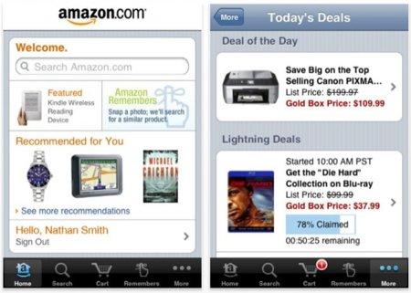 Navega por los productos de Amazon desde tu equipo iOS