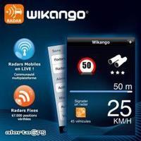 Wikango, avisador de radares para iPhone