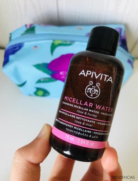 review aqua beelicious agua micelar apivita