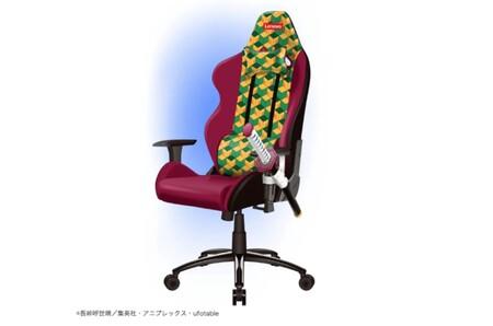 Lenovo lanza una exclusiva silla gamer con su katana (decorativa) incorporada