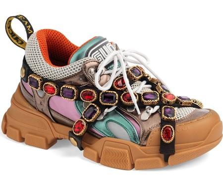 Gucci Sneakers Con Joyas