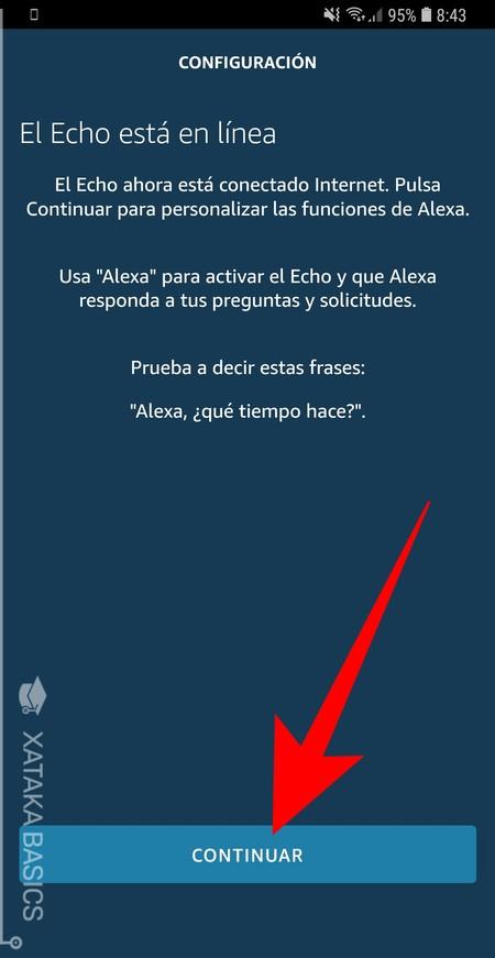 Continuar Alexa