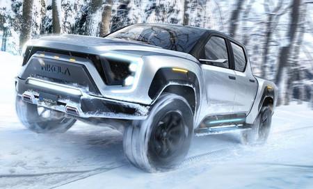 Hasta con 1,000 hp y 800 km de autonomía: así pinta el inminente destino eléctrico de las grandes pick-ups