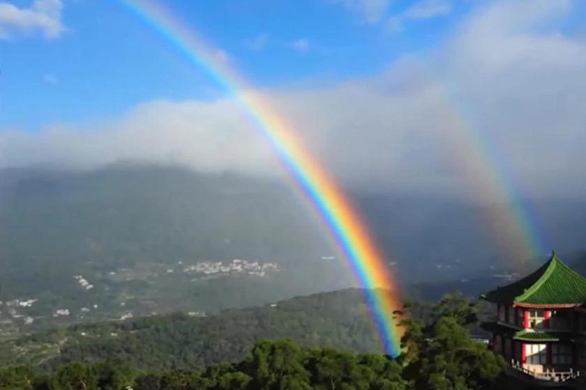 Ocho horas y 58 minutos marcan el récord del arcoíris más