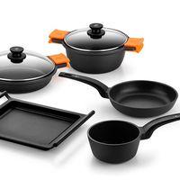 Por 129,99 euros podemos estrenar una  batería de cocina BRA Efficient de 5 piezas gracias a Amazon