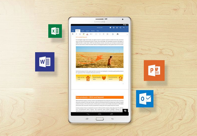 Office Apps en Android tablets