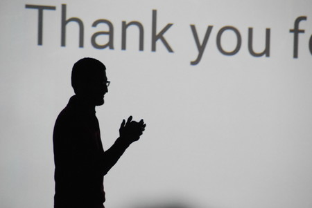 Sundar Pichai On Stage At Google S 2014 Google I O Conference 14867768277