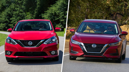 """Nissan Sentra 2020 vs. Sentra 2019: Cambia todo, pero... ¿qué es exactamente ese """"todo""""?"""