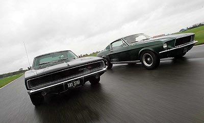 Reedición de la persecución de Bullitt con los coches de la época