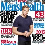 Alexander Skarsgård, el protagonista de la nueva película de Tarzán, posa para Men's Health UK