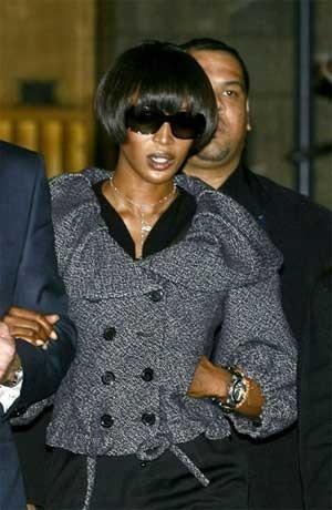 Naomi Campbell diseñará una línea de lencería