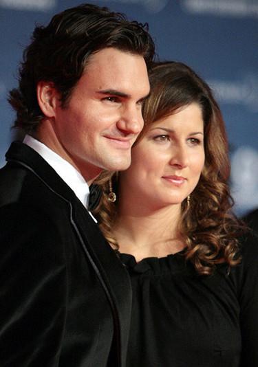 Roger Federer, padre de mellizas