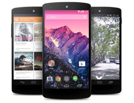 Ya disponible el nuevo Nexus 5