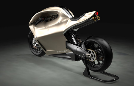Pagani Amaru Hiperdeportiva Moto Prototipo Concept 2